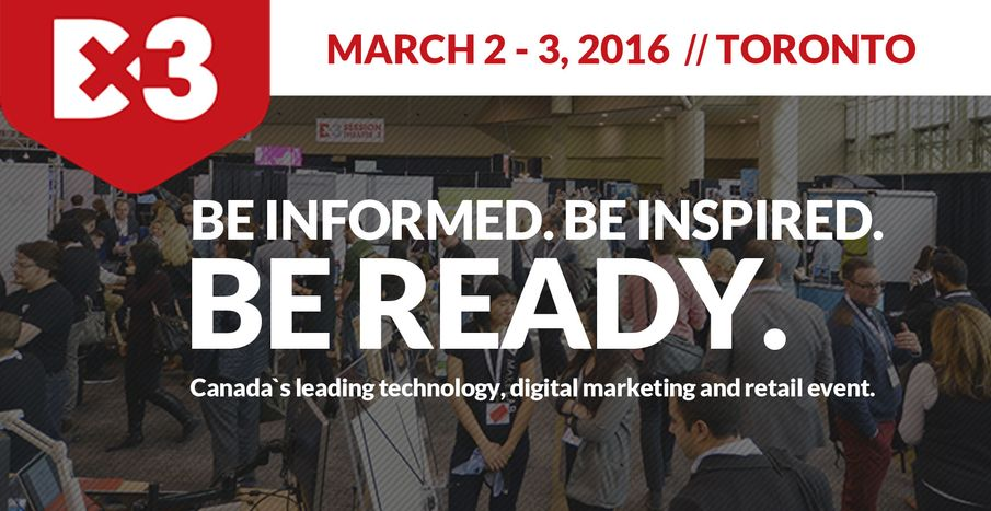 Join TK at DX3, March 2 & 3, 2016 Metro Toronto Convention Centre